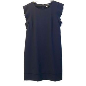 Maison Jules NWT Navy Blue Sheath Dress